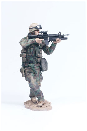 McFarlane's Military Second Tour of Duty Army Paratrooper Toy Soldier