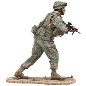 McFarlane's Military Series 4 Army Infantry - Army Toy