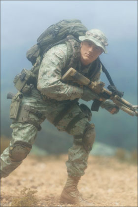 McFarlane's Military Series 1 Marine Corps Recon - Military Toy