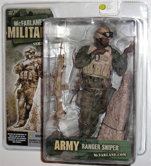 McFarlane's Military Series 3 Army Ranger Sniper - Army Toy