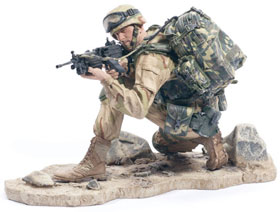 McFarlane's Military Series 1 Army Ranger Toy Soldier