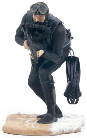 McFarlane's Military Series 1 Navy Seal - Navy Action Figure