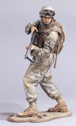 McFarlane's Military Series 3 Marine RCT - Marine Action Figure