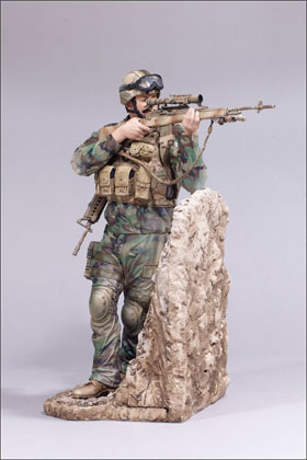 McFarlane's Military Series 3 Army Ranger - Army Toy