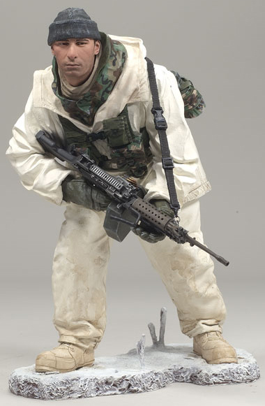 McFarlane Military Figure Series 7 Army Ranger Arctic Operations