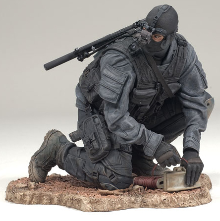 McFarlane Military Series 7 Army Special Forces Night Operations action figure toy