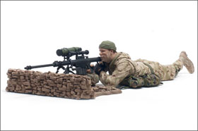 McFarlane's Military Series 1 Marine Corps Recon Sniper - Military Toy