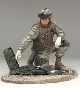 McFarlane's Military Figures - Series 4 Navy Field Medic - Navy Toy