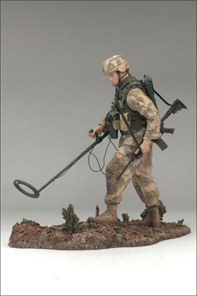 McFarlane's Military Action Figure - Series 4 Air Force Combat Engineer - Air Force Action Figure
